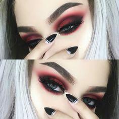 Gorgeous Makeup: Tips and Tricks With Eye Makeup and Eyeshadow – Makeup Design Ideas Makeup Goals, Makeup Inspo, Makeup Art, Beauty Makeup, Makeup Ideas, Makeup Style, Makeup Trends, Makeup Geek, Cute Emo Makeup