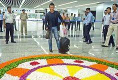 Trial run of Kolkata airport new terminal successful