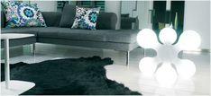 The modern floor lamp - a decorative eye-catcher in your apartment