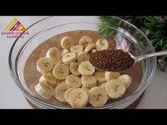 Bateți banana cu cafea și veți fi mulțumit de rezultatul 😯 Doar gătiți și gustați - YouTube No Bake Desserts, Dessert Recipes, Corndog Recipe, Baking Soda And Lemon, Torte Cake, Poke Cakes, Bread Cake, Healthy Food Choices, Banana Recipes