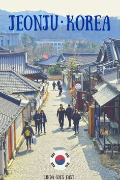 Check out one of most popular traditional destinations: This town features over 800 unique traditional Korean houses and is a popular tourist attraction in the country. For my birthday this year, Jeongsu and I decided to check out this c South Korea Travel, Asia Travel, Travel Photos, Travel Tips, Travel Hacks, Jeonju, Adventure Activities, World Pictures, Best Places To Travel
