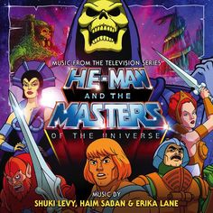 HE-MAN AND THE MASTERS OF THE UNIVERSE: LIMITED EDITION (2-CD SET) Review - Mania.com
