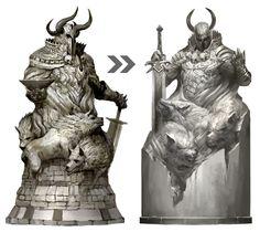 Guild Wars 2 statue