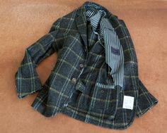 Stile Latino par Vincenzo Attolini ...a light hand crafted Italian jacket