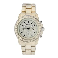 Fossil Stella Large Aluminum Watch - Champagne: Fossil: Amazon.ca: Watches