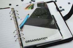 Filofax Organisation fürs Studium | Studienverlaufsplan