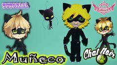 ♥ Tutorial: Muñeco Chat Noir || Miraculous Ladybug de Foamy o Goma Eva ♥