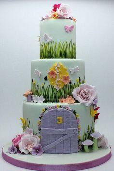 Fairy garden themed cake | Top Creative Food