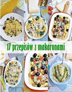 17 przepisów z makaronami Polish Recipes, Acai Bowl, Salads, Food Porn, Lunch Box, Food And Drink, Healthy Recipes, Dinner, Pierogi