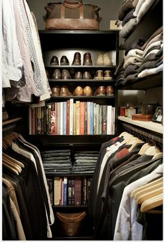 Would like my closet to look like this!