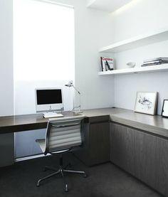 | STUDIOS | #Shareen Joel. Simple yet timeless #home-office.