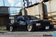 "The Hokkaido ""Hardbody"" Nissan Pickup Truck, Nissan Trucks, Pickup Trucks, Drift Truck, Nissan Hardbody, Datsun Car, Lowrider Trucks, Classic Japanese Cars, Fast Sports Cars"