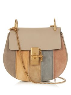 Drew small suede and leather cross-body bag | Chloé | MATCHESFASHION.COM