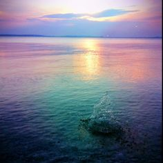Lake Huron, Near Mackinac Island #PureMichigan
