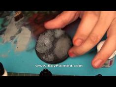 ▶ How to make debris base for miniature? | Warhammer 40k | BuyPainted - YouTube
