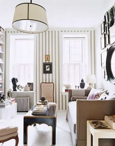 Pretty #gray #striped #wallpaper