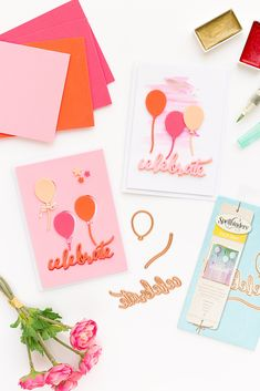Spellbinders | Cards with Foam Craft Sheets