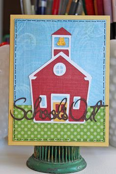 A cute end of the year card for teachers by Beth Hallgren.
