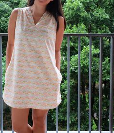 Endless Summer Tunic. Pattern by A Verb For Keeping Warm.