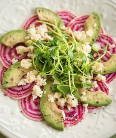 Beet and Avocado Salad recipe