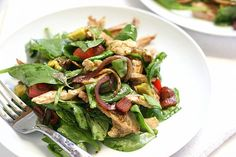 BLT Chicken Salad with Warm Bacon Dressing. If it has bacon in it, it must be good!
