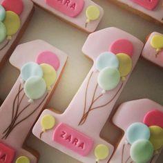 #birthday#cookies 1st birthday cookies