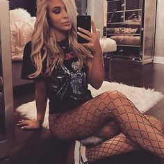 Fishnet Tights Stockings Collant Resille Shiny Pantyhose in a grid Pantyhose Mesh Tights Stockings Nylon Sexy Womens Fishnet Outfit, Black Fishnet Tights, Fishnet Leggings, Black Fishnets, Leggings Are Not Pants, Leggings Style, Elastic Stockings, Fishnet Stockings, Tights Outfit