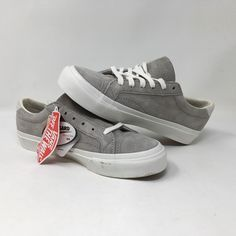 71dc5c25f5f2a1 VANS COURT DX PIG SUEDE GREY SKATE SNEAKERS MEN S SIZE 4 WOMEN S SIZE 5.5  NWOB  fashion  clothing  shoes  accessories  unisexclothingshoesaccs ...
