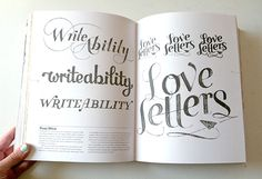 love letters typography
