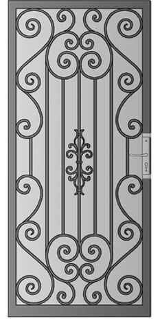 Security Screen Doors : Great Gates and Whiting Iron in Phoenix AZ | The Valley's Leader In Premium Architectural Iron Products