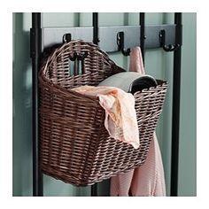 GABBIG Basket, dark brown - IKEA