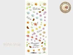 Lotus Flower Water Slide Nail Art Decals - 1pc (HOT-271)