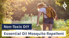 Non-Toxic DIY Essential Oil Mosquito Repellent - Organixx Eucalyptus Essential Oil, Tea Tree Essential Oil, Lemon Essential Oils, Mosquito Repellent Essential Oils, Natural Mosquito Repellant, Natural Bug Spray, Carrier Oils, Health, Diy Stuff