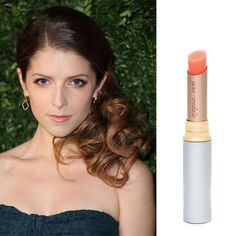 Anna Kendrick Shares Her Latest Beauty Obsession Jane Iredale Just Kissed Lip & Cheek Stain! #janeiredale #justkissed #annakendrick