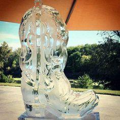 Cowboy Boot | Full Spectrum Ice Sculptures