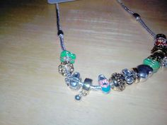 Beach Pandora style necklace