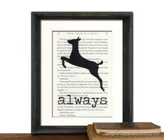 Harry Potter Always Print Potter Book Page by QuaintandCurious