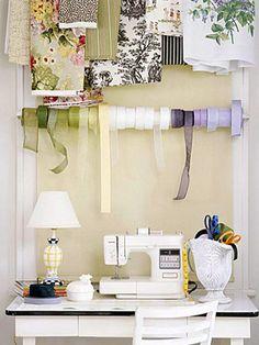 organized ribbons