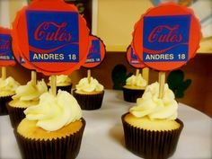 Dulce de leche cupcakes/Barcelona
