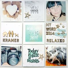 Project Life 2014 Title Page by Anke Kramer at @Studio_Calico