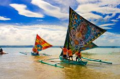 Outrigger Sailing Canoes: Philippines