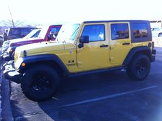 My current Jeep! Her name is Daisy! 2008 Wrangler Unlimited X