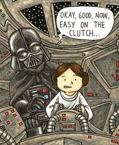 Vader's Little Princess – Si Dark Vador était un bon père…