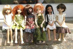 Annabella X2,Laryssa, Nyssa X2  Miki   Kaye Wiggs bjd