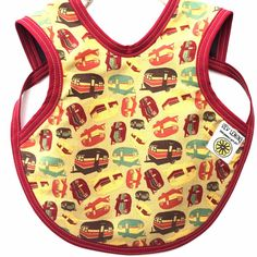 Hey, I found this really awesome Etsy listing at https://www.etsy.com/ca/listing/259094553/vintage-trailer-baby-drool-bib-baby-gift