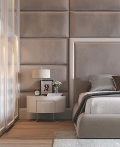 Modern Bedroom Design Inspiration The bedroom is the perfect place at home for relaxation and rejuvenation. While designing and styling your bedroom, Bedroom Design Inspiration, Modern Bedroom Design, Master Bedroom Design, Modern House Design, Bed Design, Home Decor Bedroom, Modern Interior Design, Design Ideas, Modern Interiors