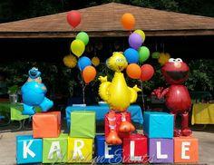 Karelles Sesame st Birthday - sesame st