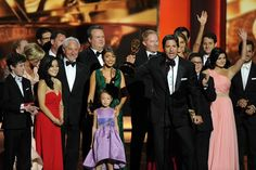 September 22 2013  The cast of Modern Family collected the award for Best Comedy Series