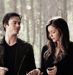 Damon and Elena #TheVampireDiaries