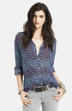 Free People Print Tunic | Nordstrom